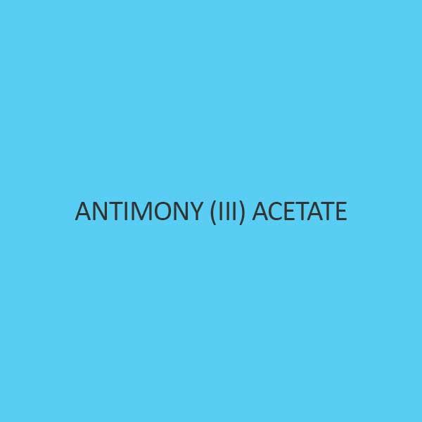 Antimony III Acetate