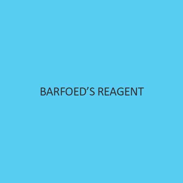 Barfoed S Reagent