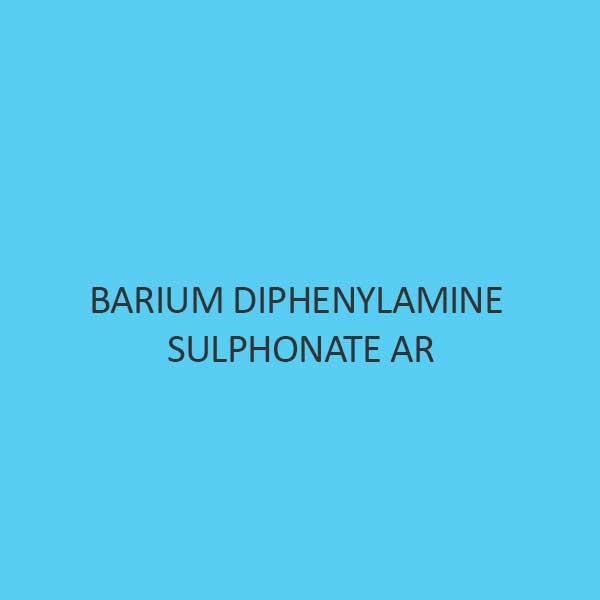 Barium Diphenylamine Sulphonate AR