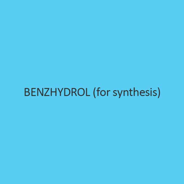 Benzhydrol (For Synthesis)