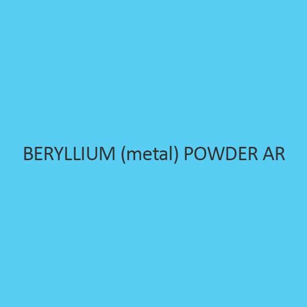 Beryllium Metal Powder AR