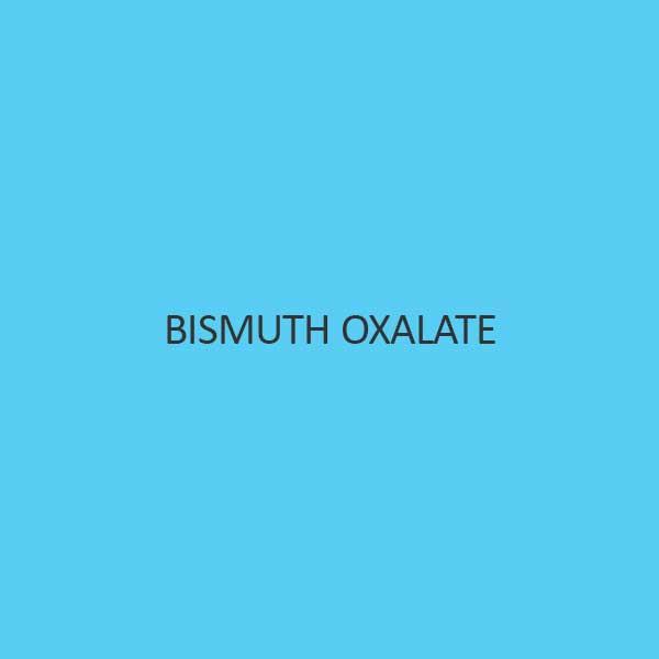 Bismuth Oxalate