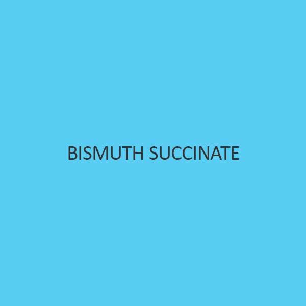 Bismuth Succinate
