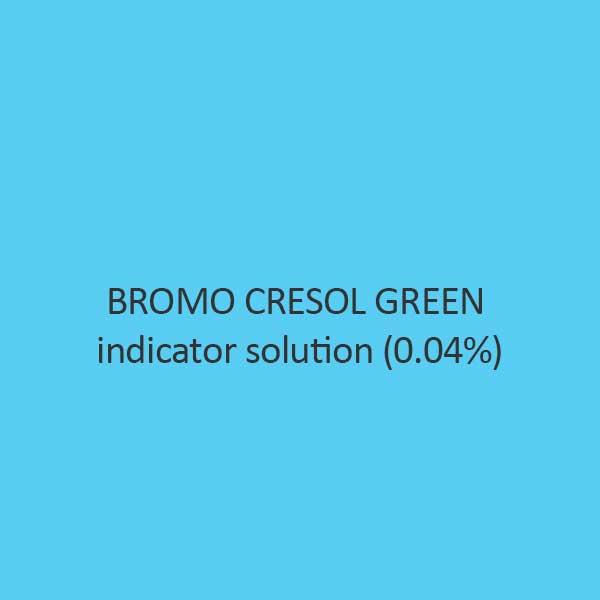 Bromo Cresol Green Indicator Solution