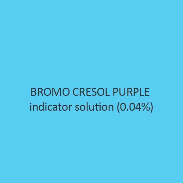 Bromo Cresol Purple Indicator Solution