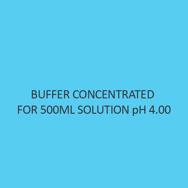 Buffer Concentrated For 500Ml Solution Ph 4.00