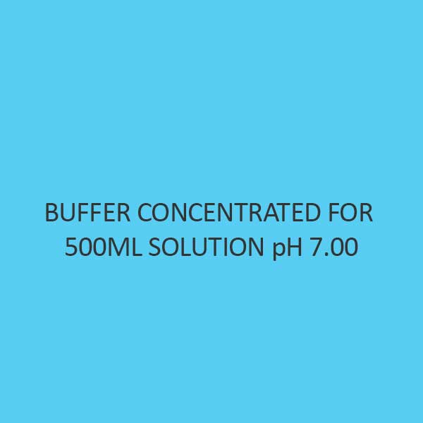 Buffer Concentrated For 500Ml Solution Ph 7.00