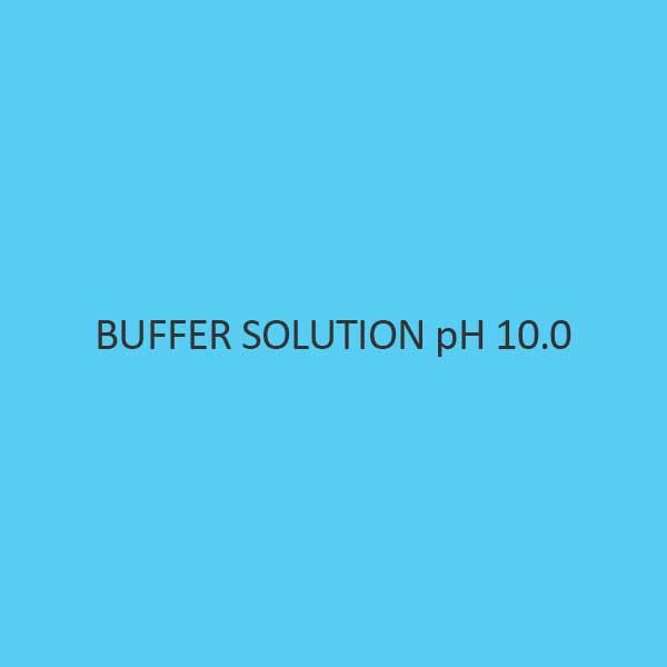 Buffer Solution Ph 10.0