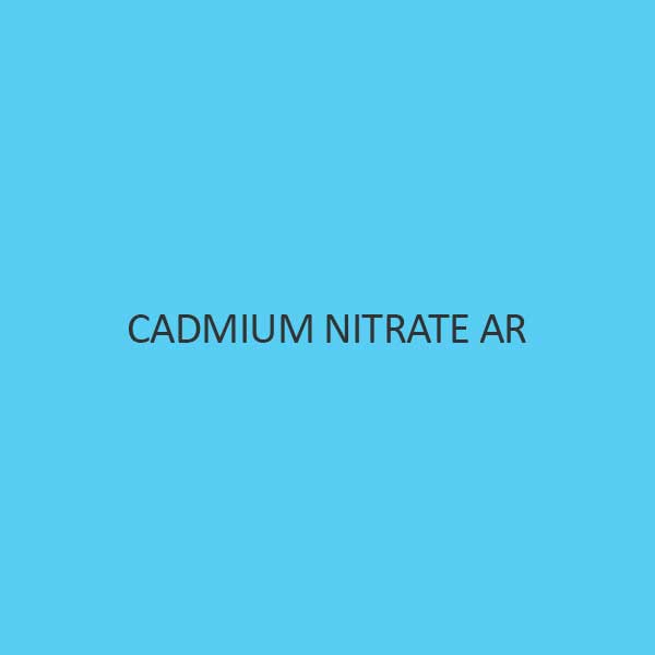 Cadmium Nitrate AR 4 Hydrate