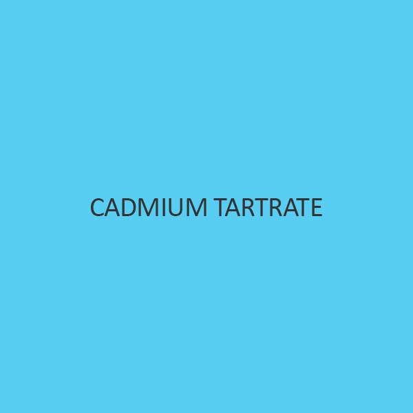Cadmium Tartrate