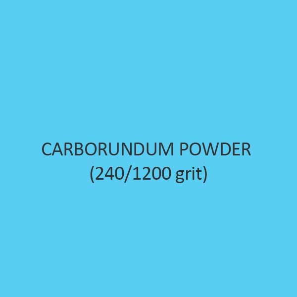 Carborundum Powder 240 Per 1200 Grit