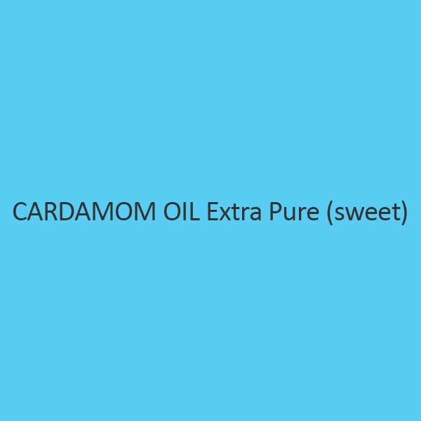 Cardamom Oil Extra Pure Sweet