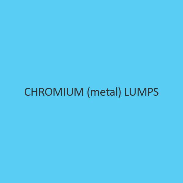 Chromium Metal Lumps