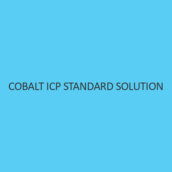 Cobalt ICP Standard Solution 1000Mg L In Nitric Acid
