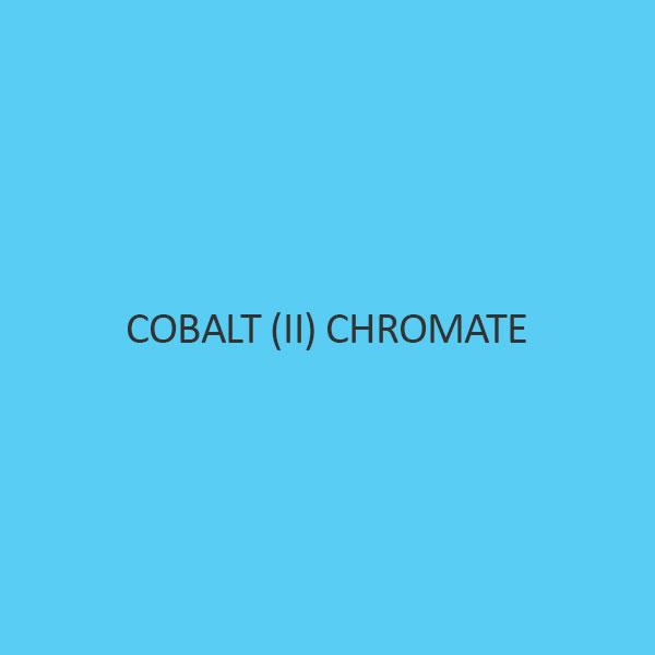 Cobalt (II) Chromate Cobaltous Chromate