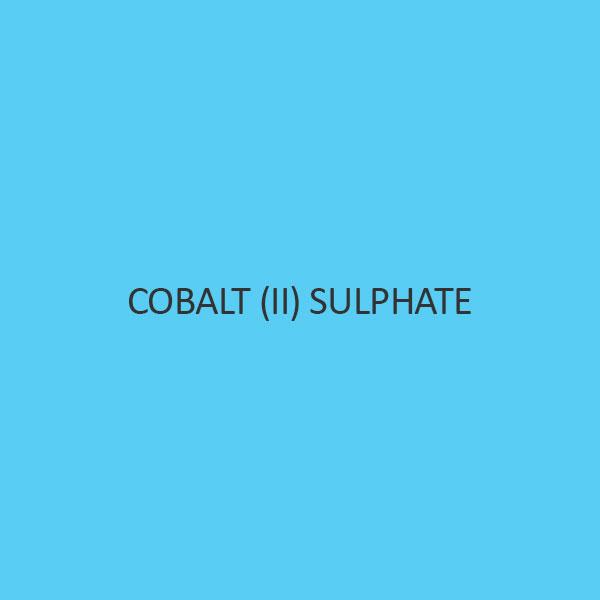 Cobalt (II) Sulphate Heptahydrate