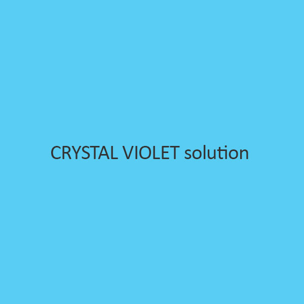 Crystal Violet Solution (GramS Staining)