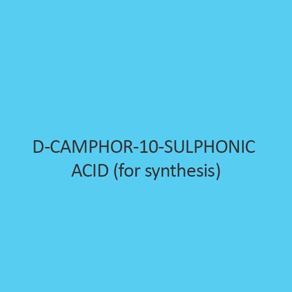 D Camphor 10 Sulphonic Acid For Synthesis