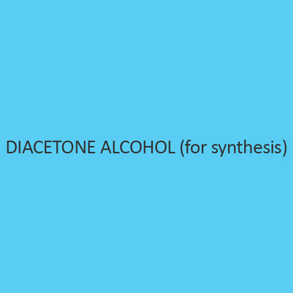 Diacetone Alcohol (For Synthesis)