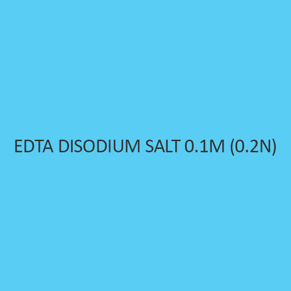 Edta Disodium Salt 0.01M (0.02N)