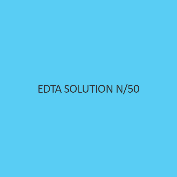 Edta Solution N per 50 (0.02N) (For Volumetric Analysis)