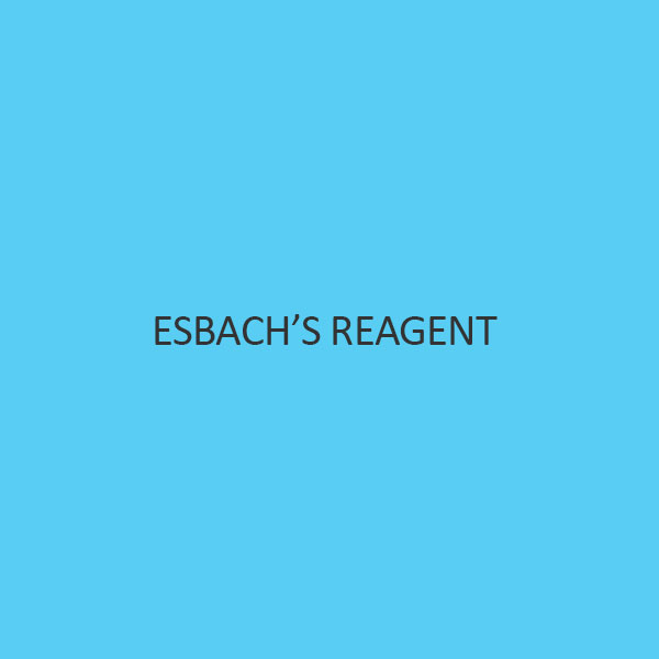 EsbachS Reagent (For Detection Of Proteins)