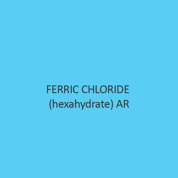 Ferric Chloride (Hexahydrate) AR