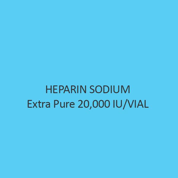 Heparin Sodium Extra Pure 20000 IU Per VIAL
