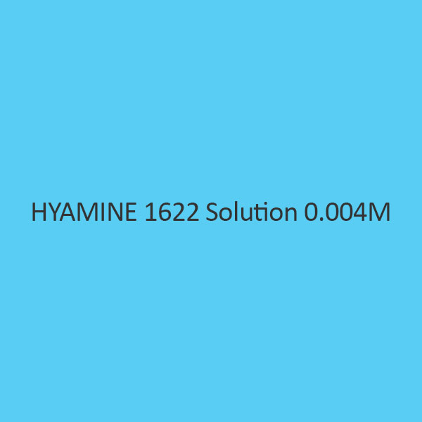 Hyamine 1622 Solution 0.04M