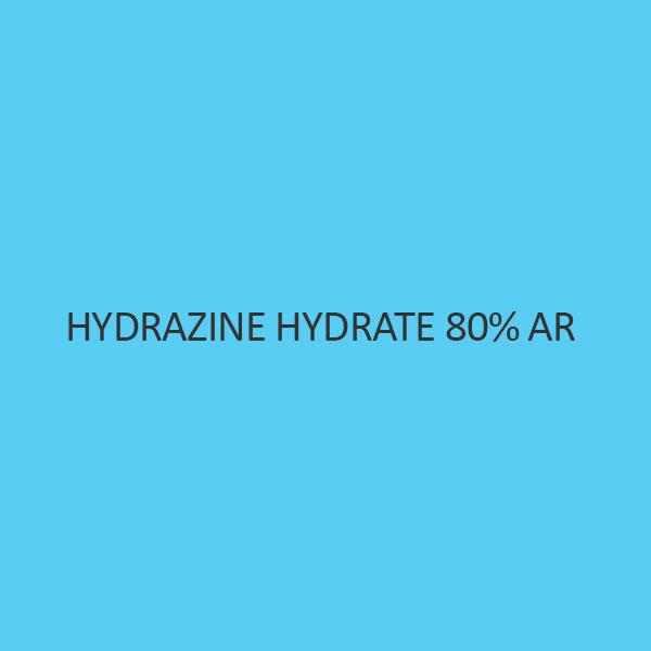 Hydrazine Hydrate 80 Percent AR