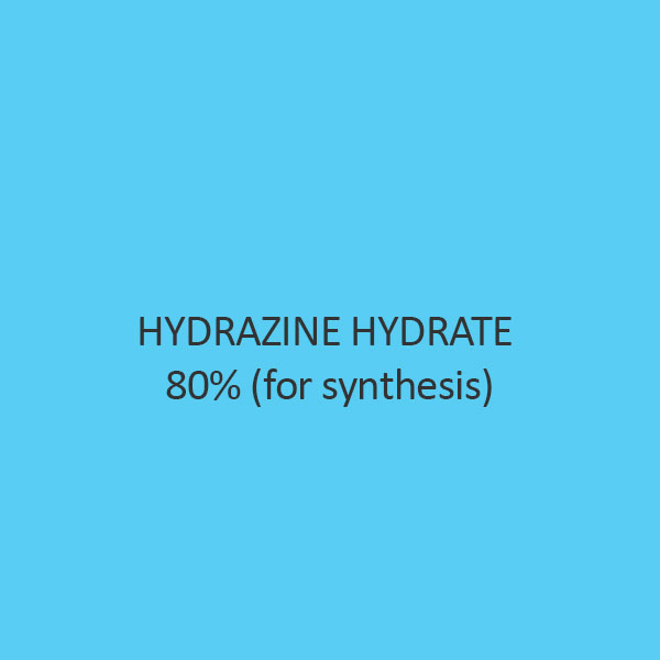 Hydrazine Hydrate 80 Percent (For Synthesis)