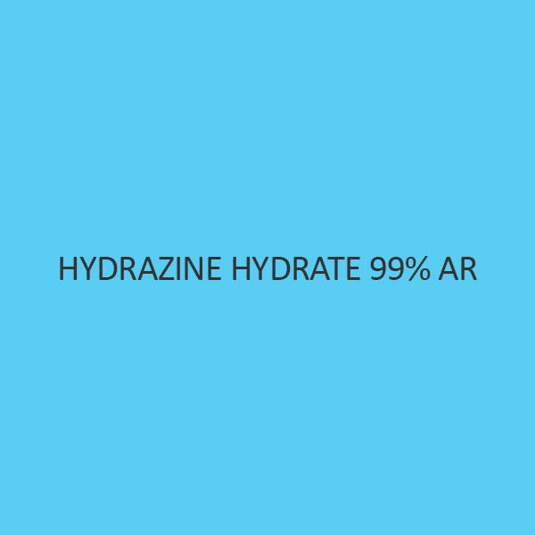 Hydrazine Hydrate 99 Percent AR