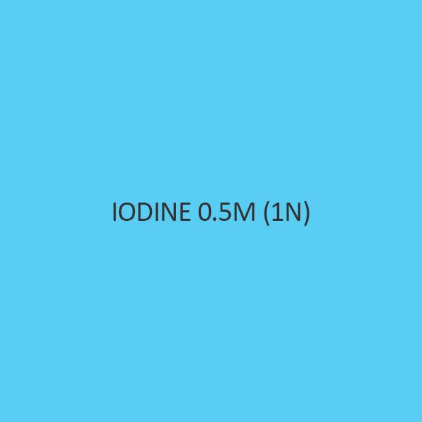 Iodine 0.5M (1N)