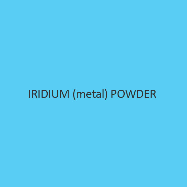 Iridium (Metal) Powder