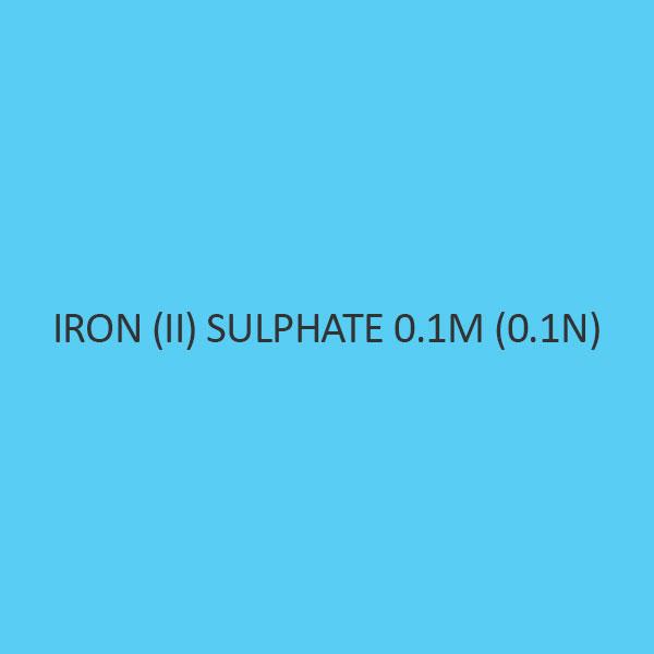 Iron (II) Sulphate 0.1M (0.1N)