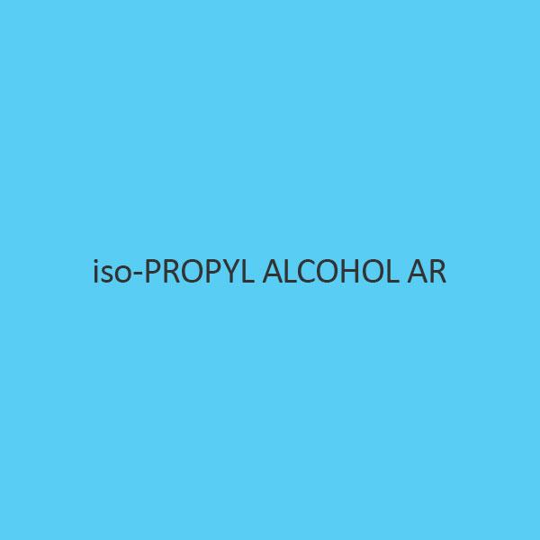 Iso Propyl Alcohol AR