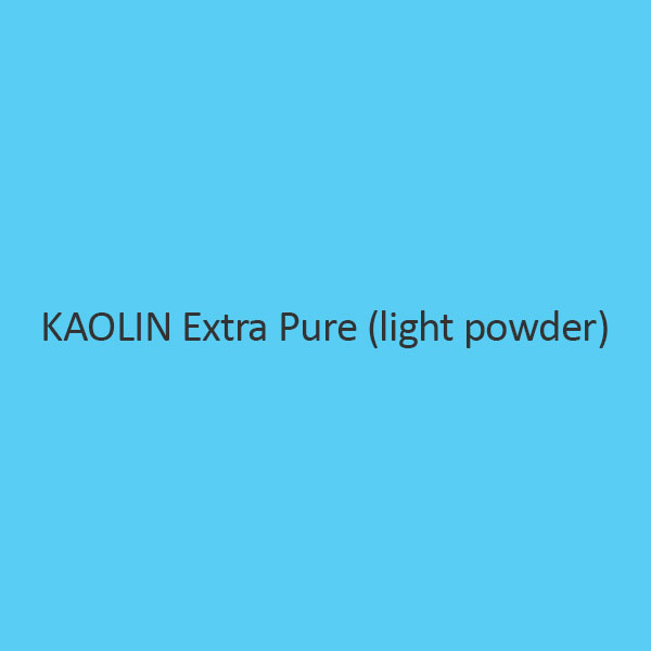 Kaolin Extra Pure (Light Powder)