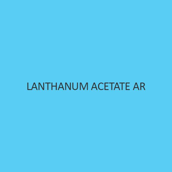 Lanthanum Acetate AR (Sesquihydrate)