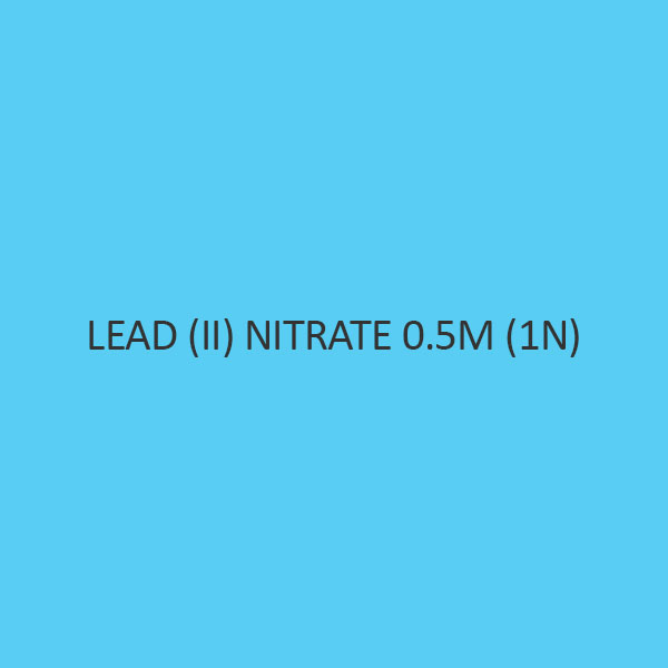 Lead (II) Nitrate 0.5M (1N)