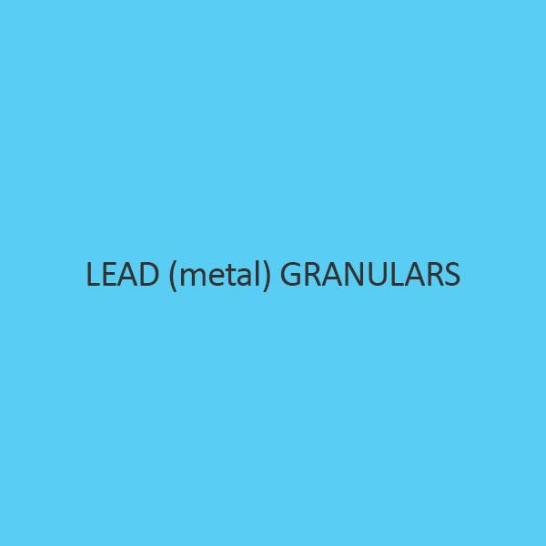 Lead (Metal) Granulars