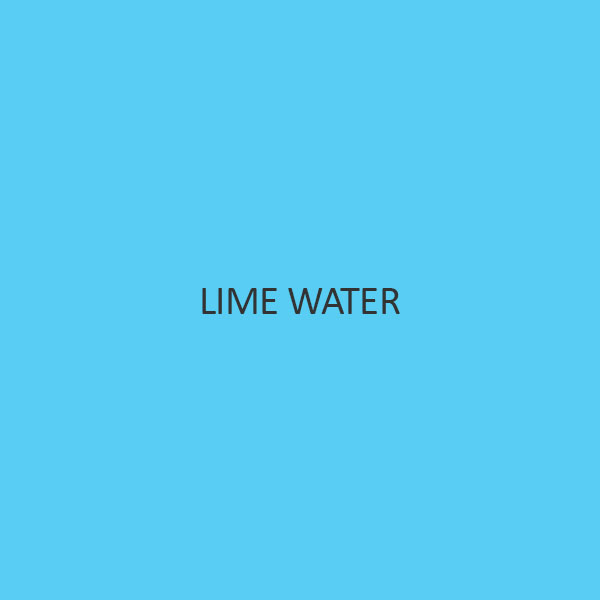 Lime Water (For Testing Carbonates)