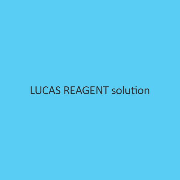 Lucas Reagent Solution