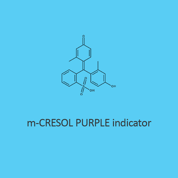M Cresol Purple Indicator