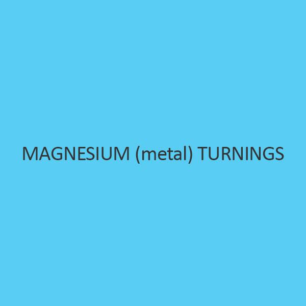 Magnesium (Metal) Turnings (Acc. Grignard Reactions)