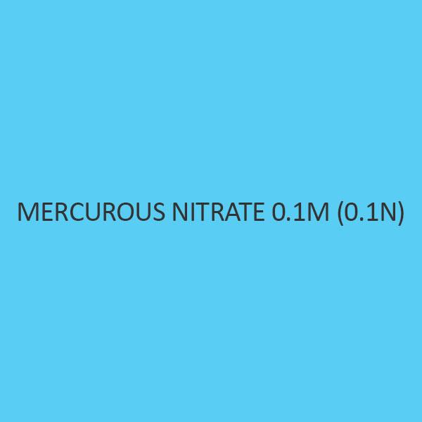 Mercurous Nitrate 0.1M 0.1N