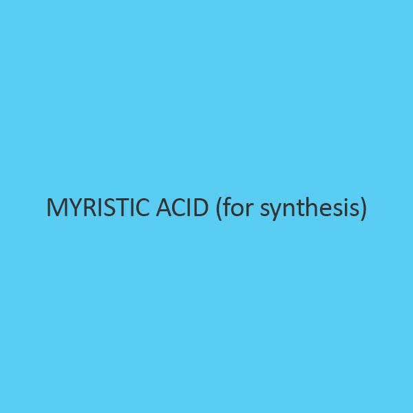 Myristic Acid (For Synthesis) (Tetra Decanoic Acid)