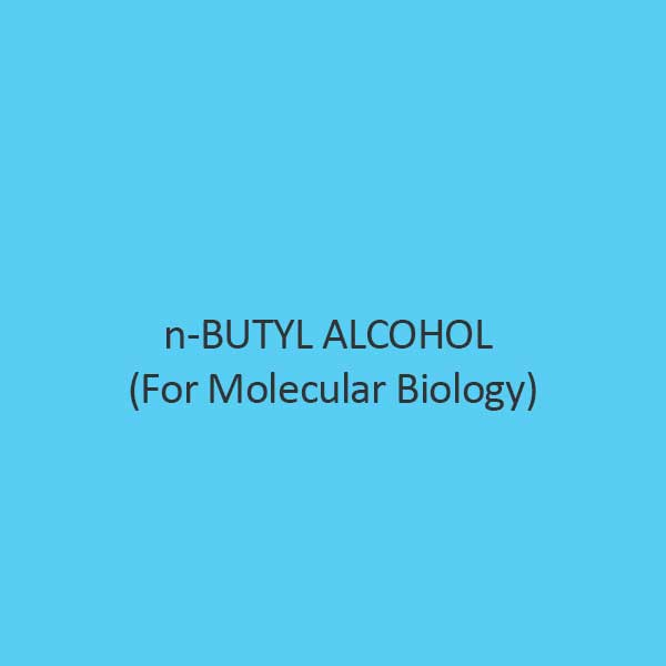 N Butyl Alcohol For Molecular Biology