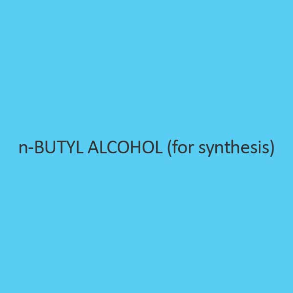 N Butyl Alcohol For Synthesis