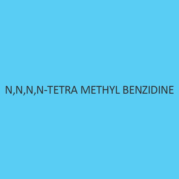 N N N N Tetra Methyl Benzidine