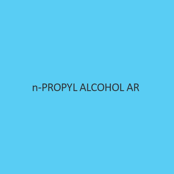 N Propyl Alcohol AR